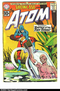 The Atom Lot Of Five Books (DC, 1962) Average GD condition. This lot consists of 5 early Atom appearances. The books are...
