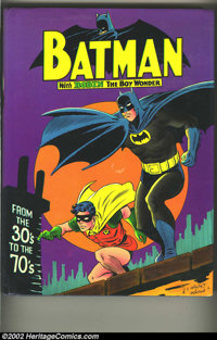 Batman From The 30's To The 70's Hardcover (Crown, 1975). This is the Fourth Print of a great book from the 1970s, which...