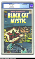 Silver Age (1956-1969):Horror, Black Cat Mystery #61 (Harvey, 1958) CGC VF 8.0 Cream to off-whitepages. Nostrand art. Overstreet 2002 VF 8.0 value = $99. ...