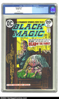 Bronze Age (1970-1979):Horror, Black Magic (DC) #1 (DC, 1973) CGC VF/NM 9.0 White pages.Overstreet 2002 NM 9.4 value = $28. ...