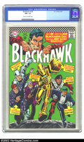 Silver Age (1956-1969):Adventure, Blackhawk #230 (DC, 1967) CGC NM- 9.2 Cream to off-white pages. Overstreet 2002 NM 9.4 value = $20. ...