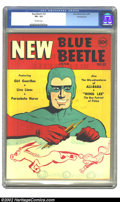Golden Age (1938-1955):Superhero, Blue Beetle #22 Pennsylvania pedigree (Fox Features Syndicate, 1943) CGC VF+ 8.5 Off-white pages. Overstreet 2002 VF 8.0 val...