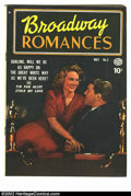 Golden Age (1938-1955):Romance, Broadway Romances #3 (Quality, 1950) Condition = FN. Bill Ward artwork....