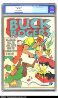 Golden Age (1938-1955):Science Fiction, Buck Rogers #3 (Eastern Color, 1941) CGC FN 6.0 Cream to off-whitepages. Overstreet 2002 FN 6.0 value = $327. ...