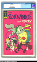 Bronze Age (1970-1979):Cartoon Character, Bullwinkle #3 (Gold Key, 1972) CGC VF 8.0 Cream to off-white pages.Overstreet 2002 VF 8.0 value = $34....