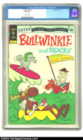 Bronze Age (1970-1979):Cartoon Character, Bullwinkle #6 (Gold Key, 1973) CGC VF 8.0 Off-white pages.Overstreet 2002 VF 8.0 value = $34....