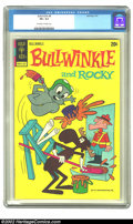 Bronze Age (1970-1979):Cartoon Character, Bullwinkle #8 (Gold Key, 1973) CGC VF+ 8.5 Off-white to whitepages. Overstreet 2002 VF 8.0 value = $34....