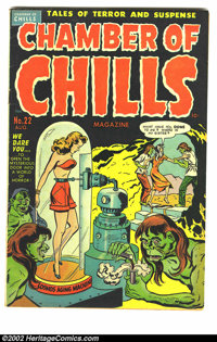 Chamber of Chills #22(#2) (Harvey, 1951) Condition = VF