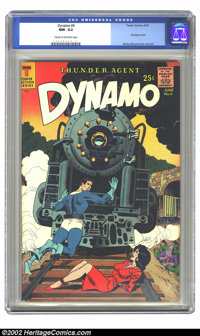 Dynamo #4 (Tower, 1967) CGC NM- 9.2 Cream to off-white pages. Bondage cover; Wally Wood cover and art. Overstreet 2002 N...