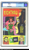 Modern Age (1980-Present):Alternative/Underground, Eightball #1 First Printing (Fantagraphics Books, 1989) CGC VF/NM 9.0 White pages. Dan Clowes cover and art. Overstreet 2002...