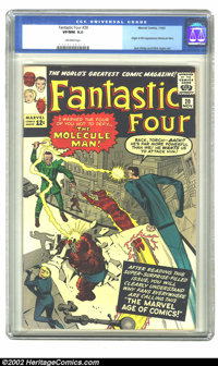 Fantastic Four #20 (Marvel) CGC VF/NM 9.0 Off-white pages. This issue features the first appearance and origin of the Mo...