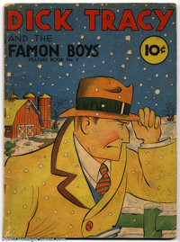 "Feature Books #9 (David McKay, 1938) Condition: VG-. Dick Tracy in ""Dick Tracy and the Famon Boys."" Overstreet..."