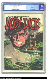Feature Presentations Magazine #6 (Fox, 1950) CGC FN/VF 7.0 Cream to off-white pages. Moby Dick; Wally Wood cover. Overs...