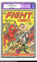Golden Age (1938-1955):Adventure, Fight Comics #2 (Fiction House, 1940) CGC Apparent FN/VF 7.0 Slight (P) Off-white to white pages. Lou Fine and Will Eisner c...