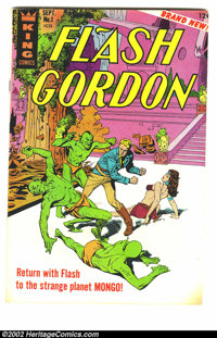 Flash Gordon Lot of 1-18 complete (King Features Syndicate, 1966) Condition average VF. Beautiful run in high-grade