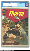 Silver Age (1956-1969):Adventure, Flipper #2 (Gold Key, 1966) CGC VF/NM 9.0 Cream to off-white pages. Overstreet 2002 NM 9.4 value = $50. ...