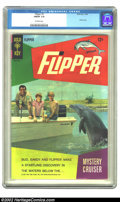 Silver Age (1956-1969):Adventure, Flipper #3 (Gold Key, 1967) CGC FN/VF 7.0 Off-white pages. Overstreet 2002 FN 6.0 value = $12; VF 8.0 value = $30. ...