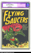 Golden Age (1938-1955):Science Fiction, Flying Saucers nn (1952) (Avon, 1952) CGC Apparent VF+ 8.5 Slight(A) Off-white pages. Fawcette cover and Wood art. Overstre...