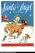 "Golden Age (1938-1955):Funny Animal, Four Color #259 (Dell, 1949). Two books in one! ""Santa and theAngel"" has Gollub art. Turn to the back cover to find ""Santa ..."