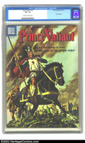 Silver Age (1956-1969):Adventure, Four Color #719 (Dell, 1956) CGC VF- 7.5 Cream to off-white pages. Prince Valiant. Overstreet 2002 VF 8.0 value = $49. ...