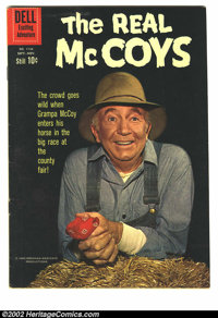 Four Color #1134 (Dell, 1960) Condition: VG/FN. The Real McCoys; Photo cover; Alex Toth art. Overstreet 2002 GD 2.0 valu...