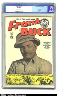 Frank Buck #70 (Fox, 1950) CGC FN 6.0 Cream to off-white pages. Photo cover; Wally Wood art. Overstreet 2002 FN 6.0 valu...