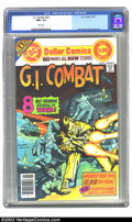 Bronze Age (1970-1979):War, G.I. Combat #201 (DC, 1977) CGC NM+ 9.6 White pages. Neal Adams and Russ Heath art. Extremely nice, high-grade book with inc...