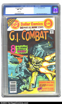 G.I. Combat #201 (DC, 1977) CGC NM+ 9.6 White pages. Neal Adams and Russ Heath art. Extremely nice, high-grade book with...