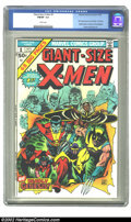 Bronze Age (1970-1979):Superhero, Giant-Size X-Men #1 (Marvel, 1975) CGC FN/VF 7.0 White pages. First appearance new X-Men, 1st Storm, Nightcrawler, Colossus ...
