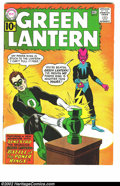 Silver Age (1956-1969):Superhero, Green Lantern #9 (DC, 1961) Condition: FN+. Sinestro appearance. Solid, attractive copy of a great Silver Age book. Overstre...