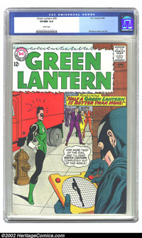 Green Lantern #29 (DC, 1964) CGC VF/NM 9.0 White pages. Gil Kane cover and art, and JLA cameo. Overstreet 2002 NM 9.4 va...