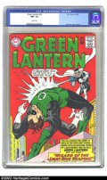 Silver Age (1956-1969):Superhero, Green Lantern #33 (DC, 1964) CGC NM- 9.2 White pages. Gil Kane cover and art. Overstreet 2002 NM 9.4 value = $115....