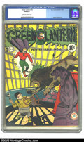 Golden Age (1938-1955):Superhero, Green Lantern #6 (DC, 1942) CGC FN 6.0 Off-white to white pages. Overstreet 2002 FN 6.0 value = $642....