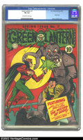Golden Age (1938-1955):Superhero, Green Lantern #7 (DC, 1943) CGC FN 6.0 Off-white to white pages. Overstreet 2002 FN 6.0 value = $695....