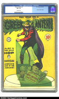 Golden Age (1938-1955):Superhero, Green Lantern #8 (DC, 1943) CGC FN+ 6.5 Off-white pages. Overstreet 2002 FN 6.0 value = $642....