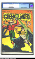 Golden Age (1938-1955):Superhero, Green Lantern #11 (DC, 1944) CGC VG/FN 5.0 Off-white to white pages. Overstreet 2002 GD 2.0 value = $129; FN 6.0 value = $38...