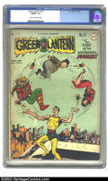 Golden Age (1938-1955):Superhero, Green Lantern #32 (DC, 1948) CGC FN/VF 7.0 Cream to off-white pages. Overstreet 2002 FN 6.0 value = $300; VF 8.0 value = $62...