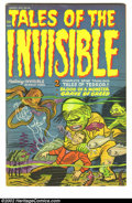 """Golden Age (1938-1955):Horror, Harvey Comics Hits #59 (Harvey, 1952) Condition: FN. """"Tales of theInvisible, featuring Scarlet O'Neil."""" Overstreet 2002 FN ..."""