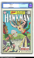 Hawkman #1 (DC, 1964) CGC VF+ 8.5 Off-white pages. Overstreet 2002 VF 8.0 value = $410