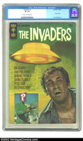 Silver Age (1956-1969):Science Fiction, The Invaders #1 (Gold Key, 1967) CGC VF 8.0 Cream to off-white pages. Overstreet 2002 VF 8.0 value = $70. ...