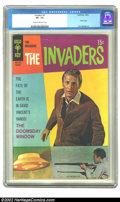 Silver Age (1956-1969):Science Fiction, The Invaders #4 (Gold Key, 1968) CGC VF- 7.5 Cream to off-white pages. Overstreet 2002 VF 8.0 value = $49. ...