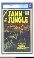 Silver Age (1956-1969):Adventure, Jann of the Jungle #16 Circle 8 pedigree (Atlas, 1957) CGC VF+ 8.5 Off-white pages. Everett cover, Williamson art. Overstree...