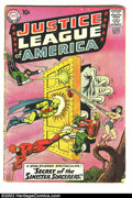 Silver Age (1956-1969):Superhero, Justice League of America Lot (DC, 1960-61). This lot contains 7 early issues of the Justice League. Issue #2 is GD- (co...