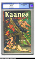 Golden Age (1938-1955):Adventure, Kaanga Comics #12 (Fiction House, 1952) CGC FN/VF 7.0 Cream to off-white pages. Overstreet 2002 FN 6.0 value=$36; VF 8.0 val...