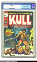 Bronze Age (1970-1979):Miscellaneous, Kull the Conqueror #1 (Marvel, 1971). CGC NM 9.4 Off-white to whitepages. Origin of Kull. Overstreet 2002 NM 9.4 value = $3...