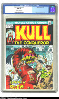 Bronze Age (1970-1979):Miscellaneous, Kull the Conqueror #6 (Marvel, 1973) CGC NM 9.4 Off-white to whitepages. Marie and John Severin art. Overstreet 2002 NM 9.4...
