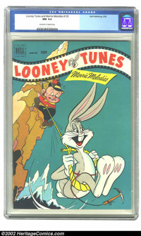 Looney Tunes and Merrie Melodies Comics #125 (Dell, 1952) CGC NM 9.4 Off-white to white pages. Overstreet 2002 NM 9.4 va...