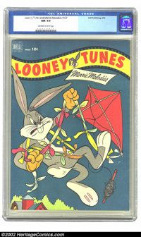 Looney Tunes and Merrie Melodies Comics #127 (Dell, 1952) CGC NM 9.4 Off-white to white pages. Overstreet 2002 NM 9.4 va...