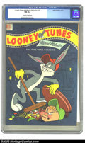 Golden Age (1938-1955):Cartoon Character, Looney Tunes and Merrie Melodies Comics #137 (Dell, 1953) CGC NM-9.2 Off-white to white pages. Overstreet 2002 NM 9.4 value...