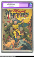 """Golden Age (1938-1955):Superhero, Major Victory #1 (H. Clay Glover Company, 1942) CGC Apparent FN 6.0 Slight (A) Cream to off-white pages. CGC notes: """"Restora..."""